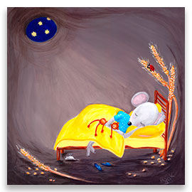 Sweet Dreams | Cute Little Mousie POSTER Image
