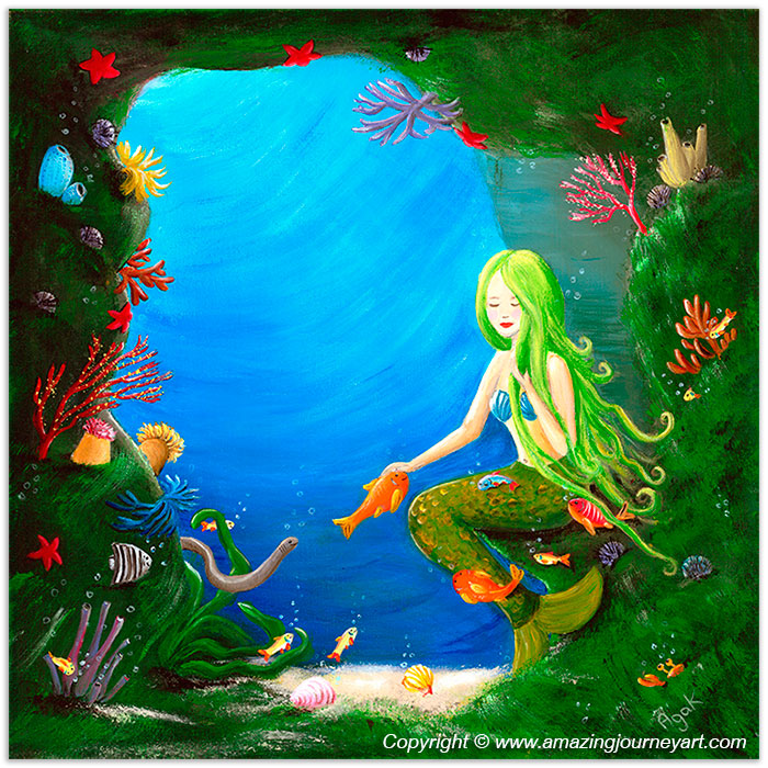 Underwater Friends ©2015 Amazing Journey Art. All rights reserved.