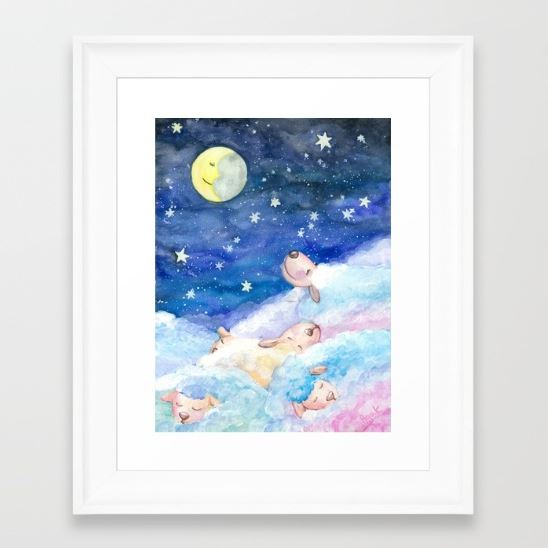 Moony Sheep Image